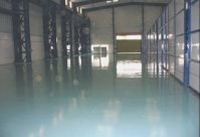 Glossy Floor Coating Systems     Client :  NEG Micon,  Chennai.